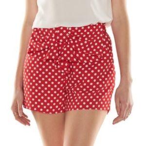 NWT Disney's x Lauren Conrad Mini Mouse Shorts!